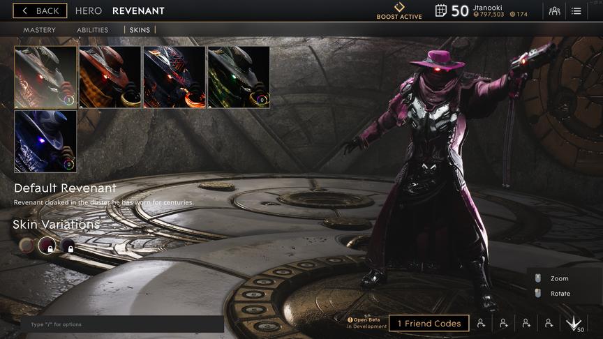 Revenant Velvet Default skin