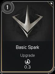 Basic Spark card