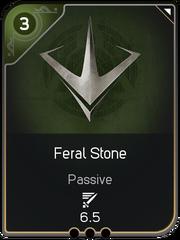 Feral Stone card
