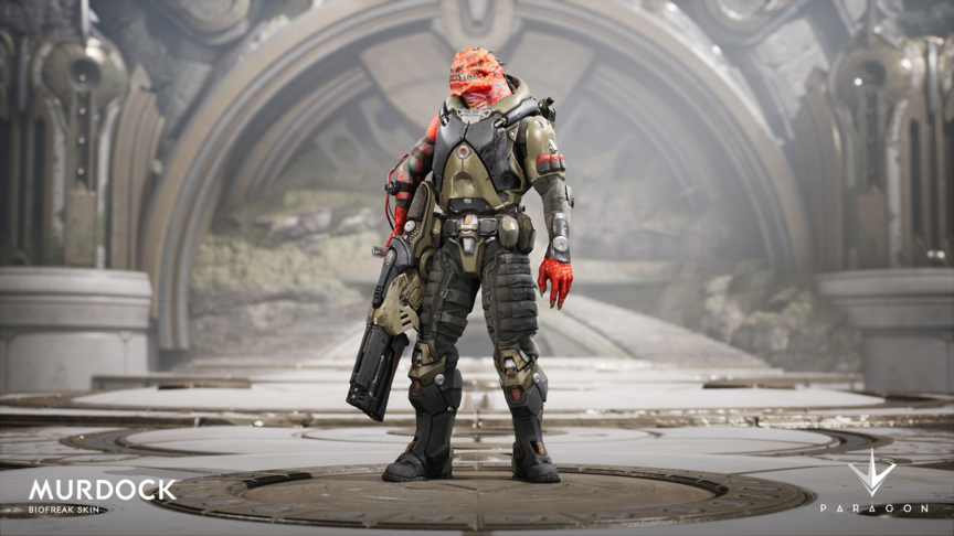 Murdock Biofreak skin