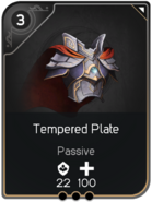 Tempered Plate