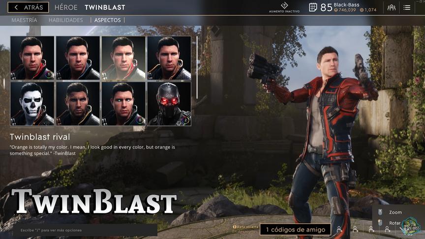 TwinBlast Rival skin