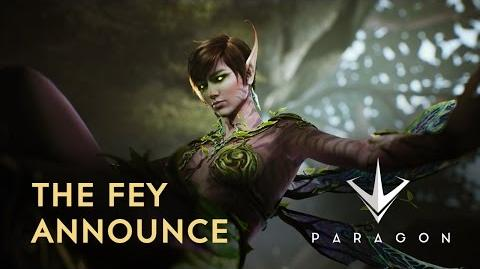 Paragon - The Fey Announce Trailer
