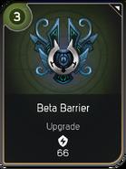 Beta Barrier