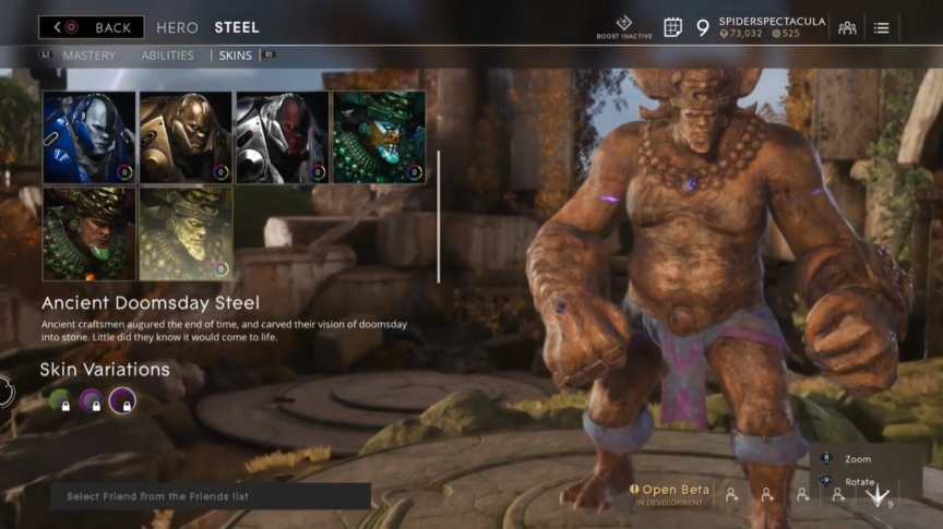 Steel Desert Ancient Doomsday skin