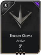 Thunder Cleaver