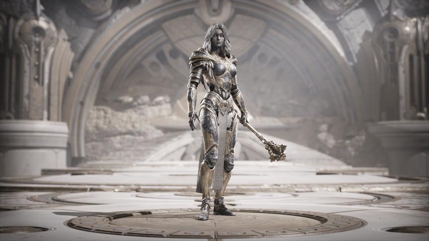 Serath Everfrost skin