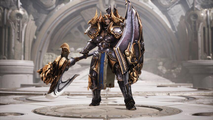 Terra Gryphon Knight skin