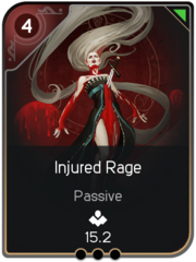 Injured Rage card
