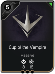 Cup of the Vampire card