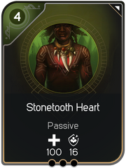 Stonetooth Heart card