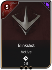 Blinkshot card