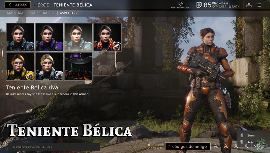 Lt. Belica Rival skin