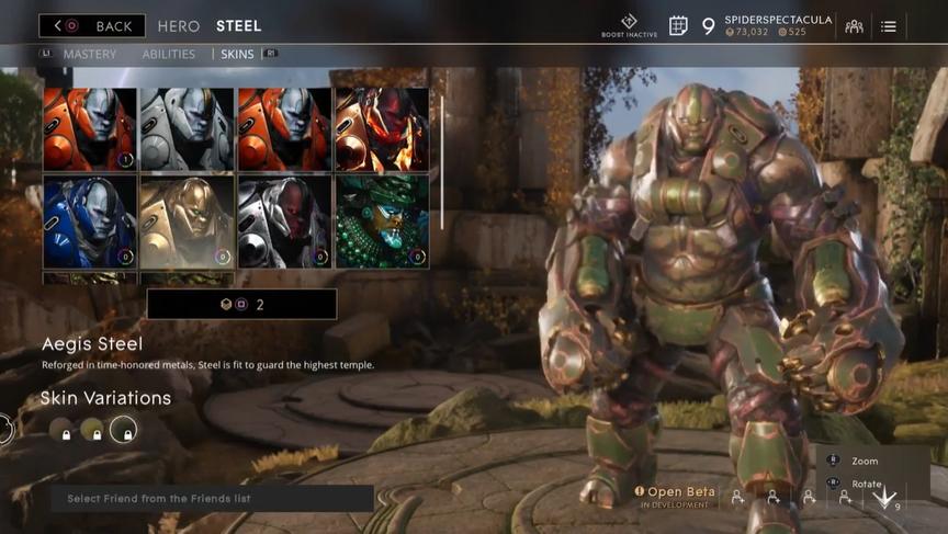 Steel Military Aegis skin