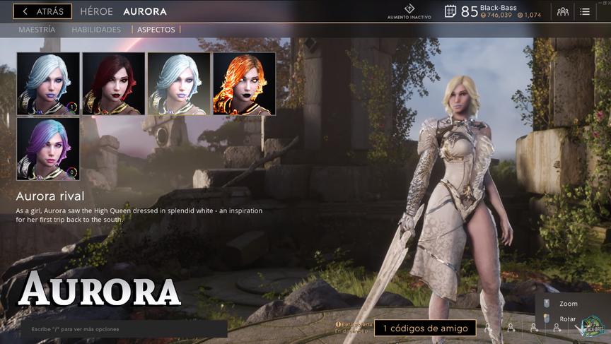Aurora Rival skin