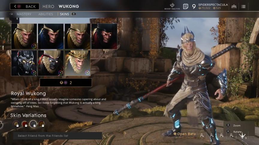 Wukong Lunar Royal skin
