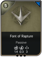 Font of Rapture