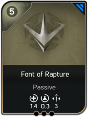Font of Rapture card