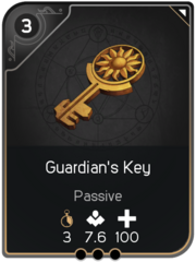 Guardian's Key card