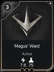 Magus' Ward card