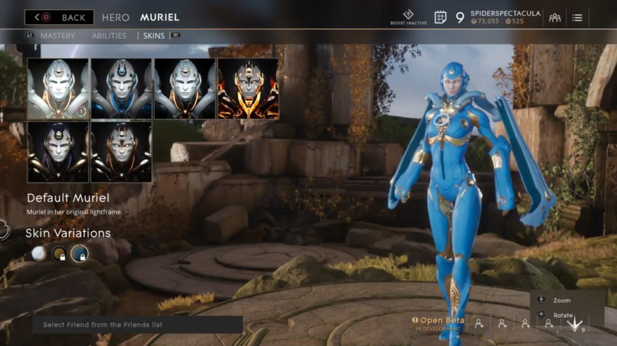 Muriel Sky Default skin