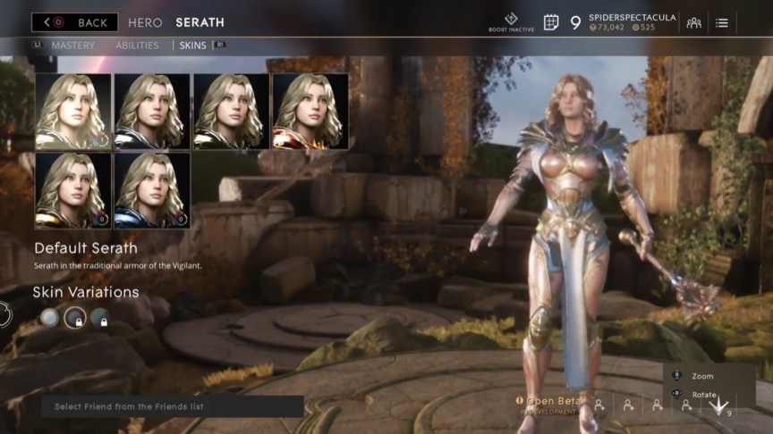 Serath Blush Default skin
