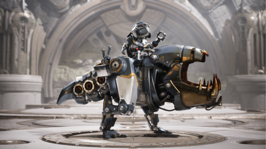 Iggy and Scorch Mecha Terror skin