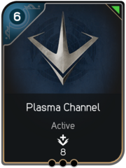 Plasma Channel card