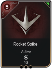 Rocket Spike card