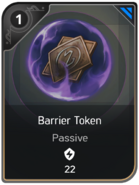 Barrier Token