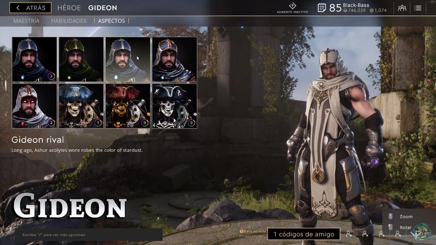 Gideon Rival skin