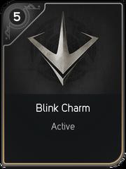 Blink Charm card