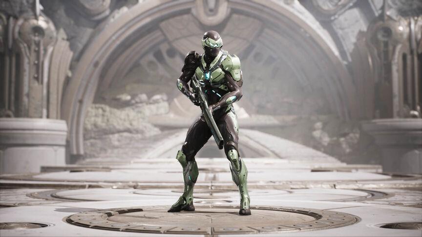 Wraith Challenger skin
