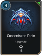 Concentrated Drain