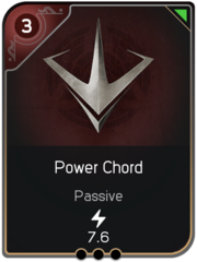 Power Chord card