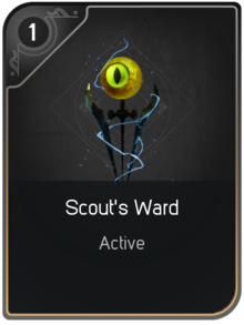 Scout's Ward card