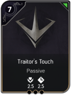 Traitor's Touch