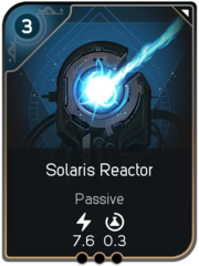 Solaris Reactor card