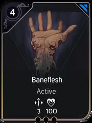 Baneflesh card