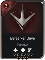 Berzerker Drive card