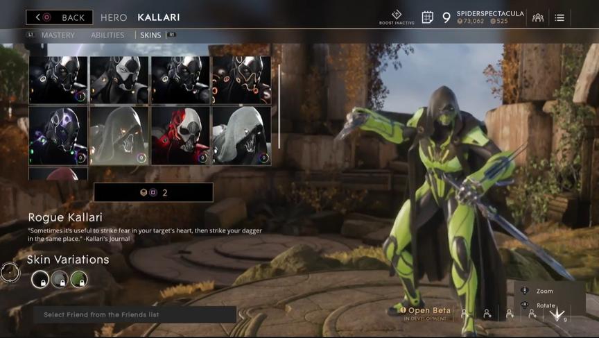 Kallari Ichor Rogue skin
