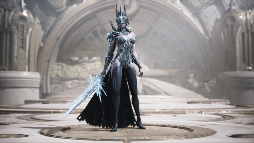 Aurora Glacial Empress skin