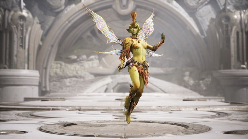 The Fey Autumn Keeper skin