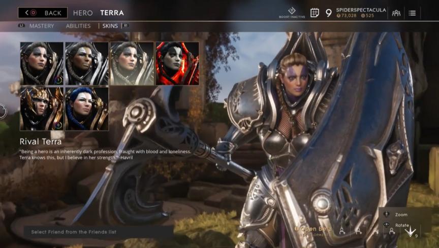 Terra Rival skin