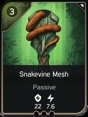 Snakevine Mesh card
