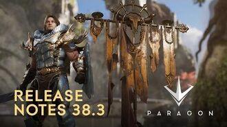 Paragon - Release Notes .38.3