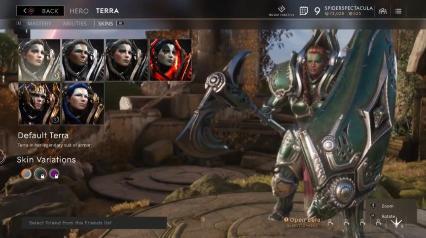Terra Jungle Default skin