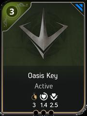 Oasis Key card