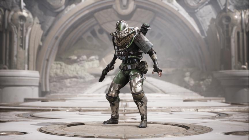 Drongo Alien Invader skin