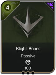 Blight Bones card